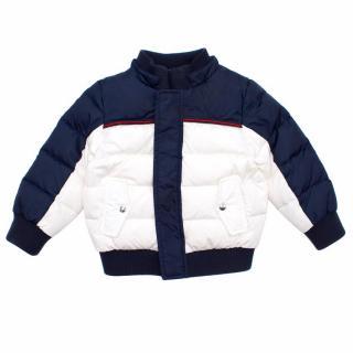 Gucci Kids White Puffer Jacket
