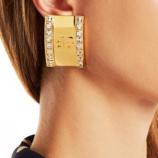Balenciaga BB clip earring