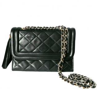 Chanel vintage tassel flap bag