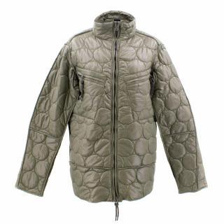 Jet Set Polyamide Khaki Jacket