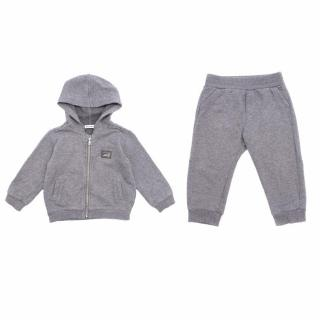Dolce & Gabbana Kids Grey Tracksuit Set