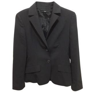 Hugo Boss black wool blend blazer
