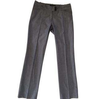 Barbara Bui Pinstriped Trousers