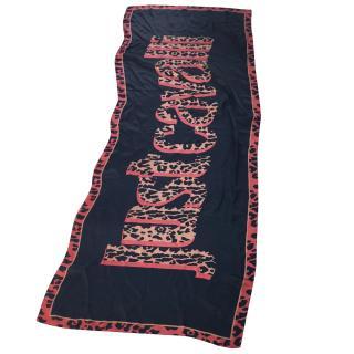 Just Cavalli silk scarf