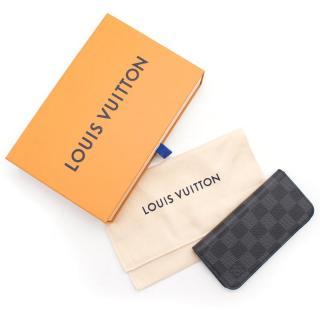 Louis Vuitton Black and Grey Monogram IPhone Case