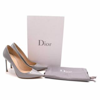 Christian Dior Grey Dioressence Pumps