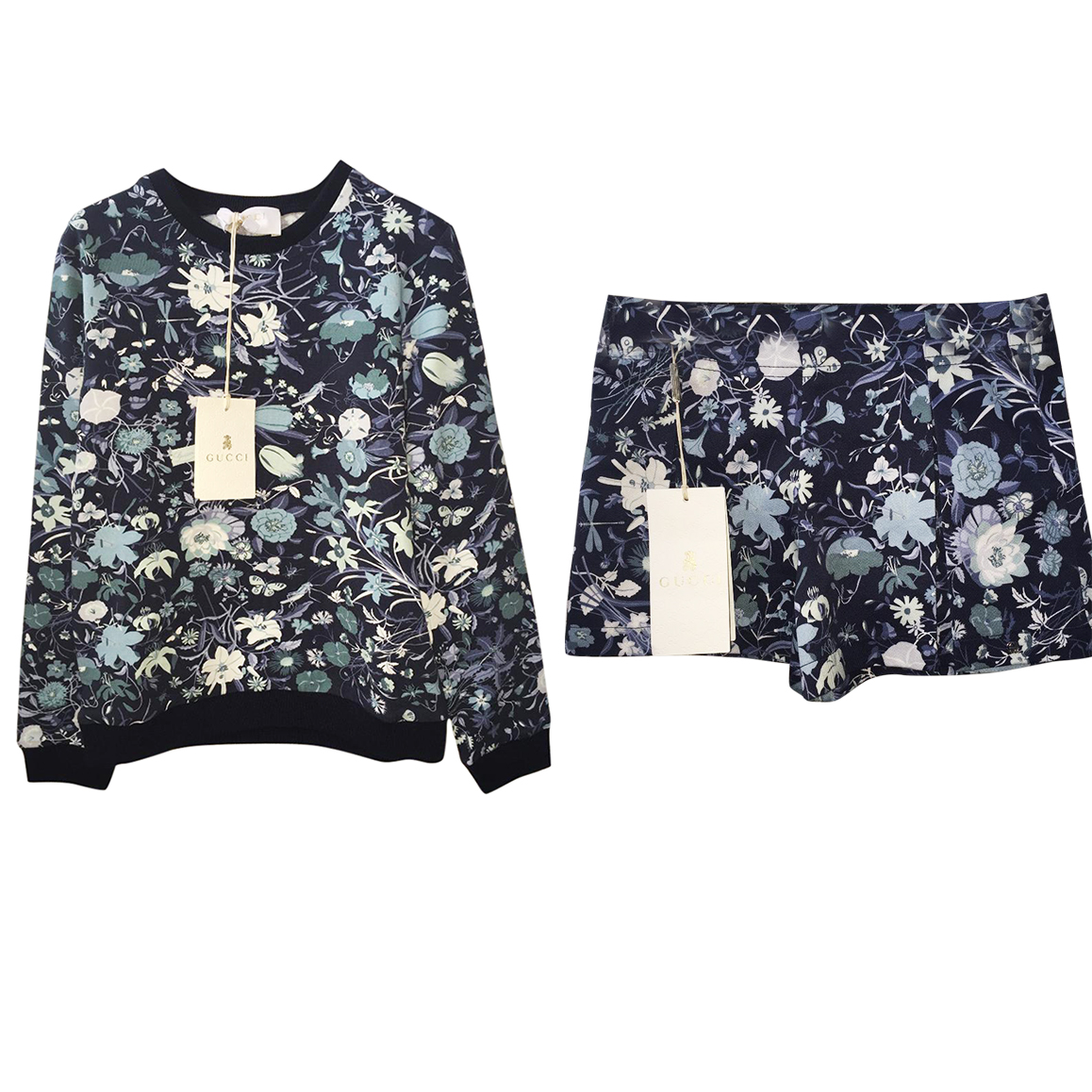 Gucci girls floral jumper and Short outfit 6 years