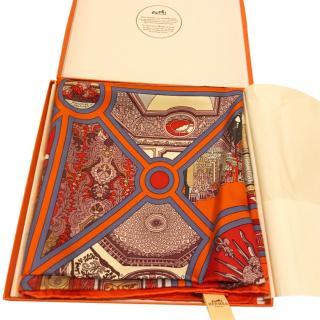 Hermes Versailles Silk Scarf