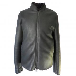 Armani Collezioni Shearling Jacket