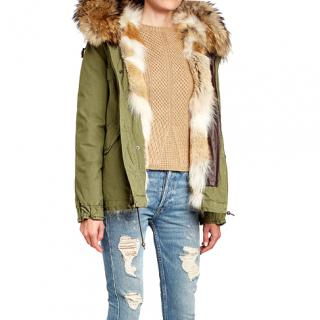 Mr & Mrs Italy new fur lined parka