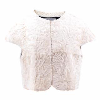 Antonella Valsecchi Lamb Bolero Vest
