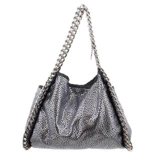 Stella McCartney Silver Studded Tote Bag