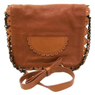 See By Chloe Tan Suede Crossbody Bag