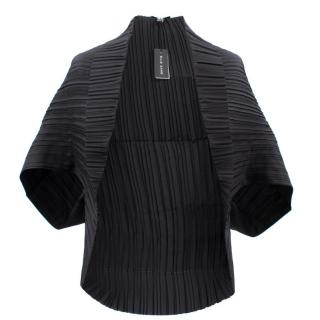Ellie Saab Black Silk Cardigan