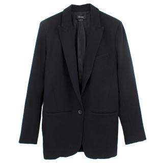 Isabel Marant Black Wool Long Blazer