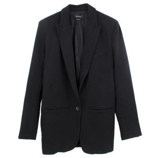 Isabel Marant Black Wool Long Blazer