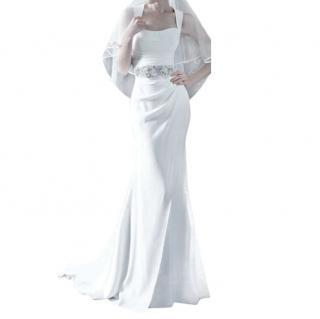 Suzanne Neville ivory wedding dress