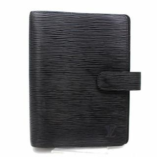 Louis Vuitton Black Epi  Agenda Cover  MM