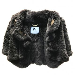 Blumarine Rabbit Fur Jacket