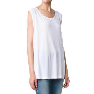 Anine Bing silk oversized tank top