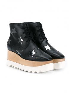 Stella McCartney  Star wedge Boots