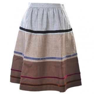 Etro wool skirt