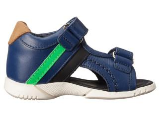 Dolce & Gabbana boys navy leather sandals 2