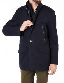 Hugo Boss Black Label  Dark Blue Full Zip Cossam2 Jacket