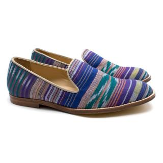 T & F Slack Shoemakers London Handmade Royal 414 Loafers