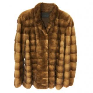 Dennis Basso Mink Fur Coat