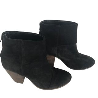 Rag And Bone black ankle boots
