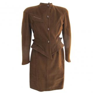 Thierry Mugler vintage suit