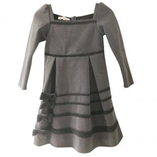 Christian Dior grey girl's dress