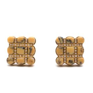 Steffano Ricci 18ct Gold Square Cufflinks