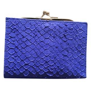 Maison Martin Margiela Blue Leather wallet