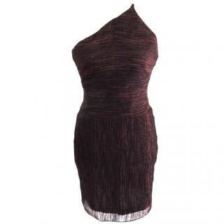 Amanda Wakeley one shoulder party dress