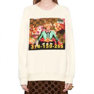 Gucci Montreal print sweatshirt