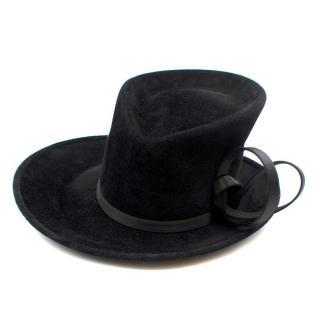 Philip Treacy Bespoke Black Top Hat