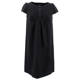 Joseph Black Wool Dress