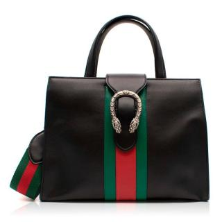 Gucci Dionysus Black Top Handle Bag