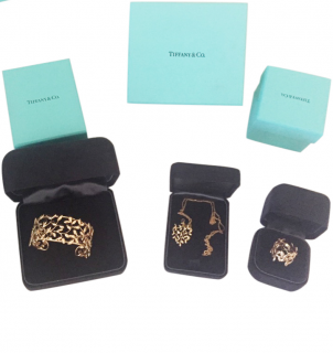 Tiffany Paloma Picasso Olive leaf Jewellery Set