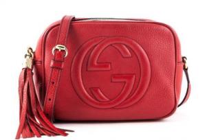 Gucci Red Soho Disco Bag