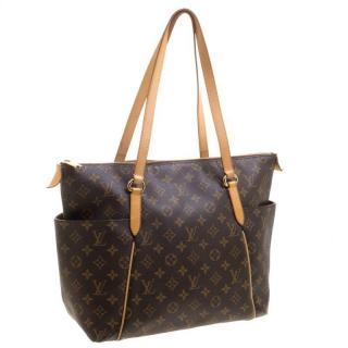 Louis Vuitton Monogram Canvas Canvas Totally MM Bag
