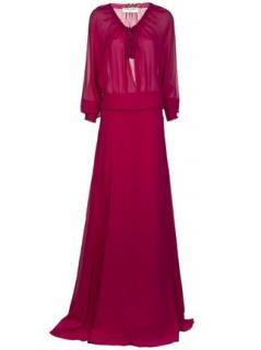 Saint Laurent Long Tassel Dress.