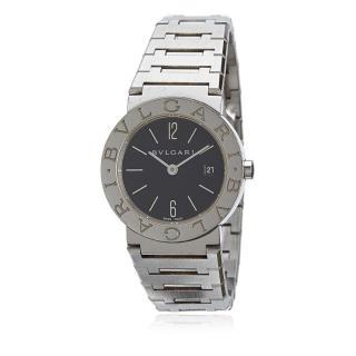Bvlgari Diagono Silver Stainless Steel Watch