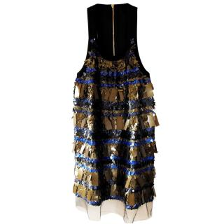Sonia Rykiel sequinned mini dress