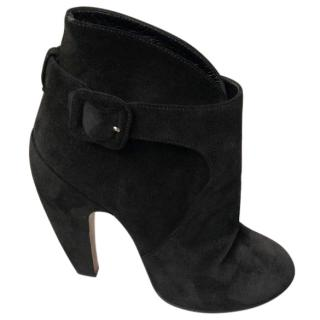 Alaia Suede Boots