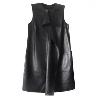 Mother of Pearl Leather Sleeveless Dress