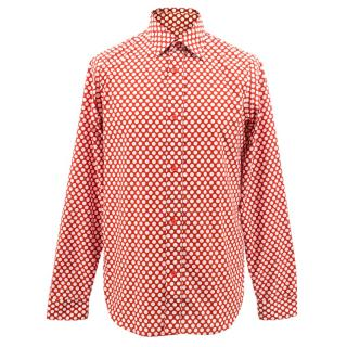 Burberry Prorsum Polka-dot Shirt