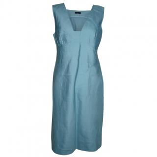 Alberta Ferretti silk cotton blend dress
